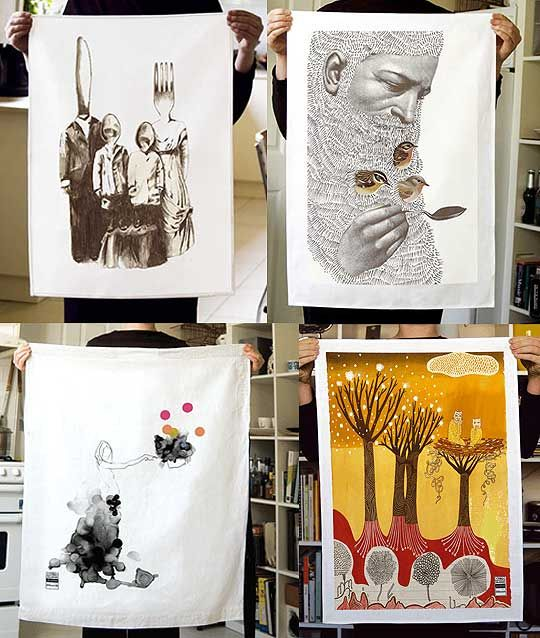 Tea Towel Kitchen Curtains: 11 Best Tea Towel Art Images On Pinterest