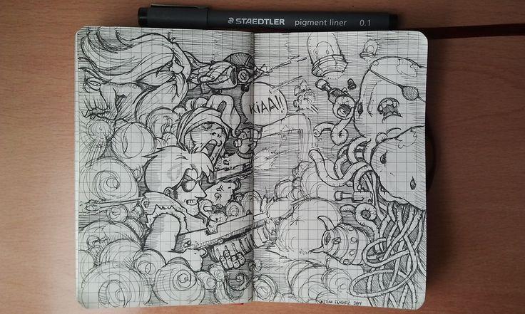 Cristian Sánchez Reus: Doodle 2! Ahora con más Slug!