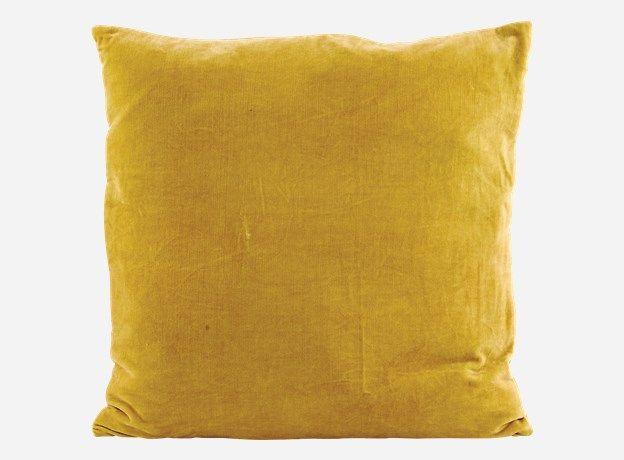 Ab1301 - Pillowcase, Velv, ceylon yellow, 50x50 cm, 100% cotton