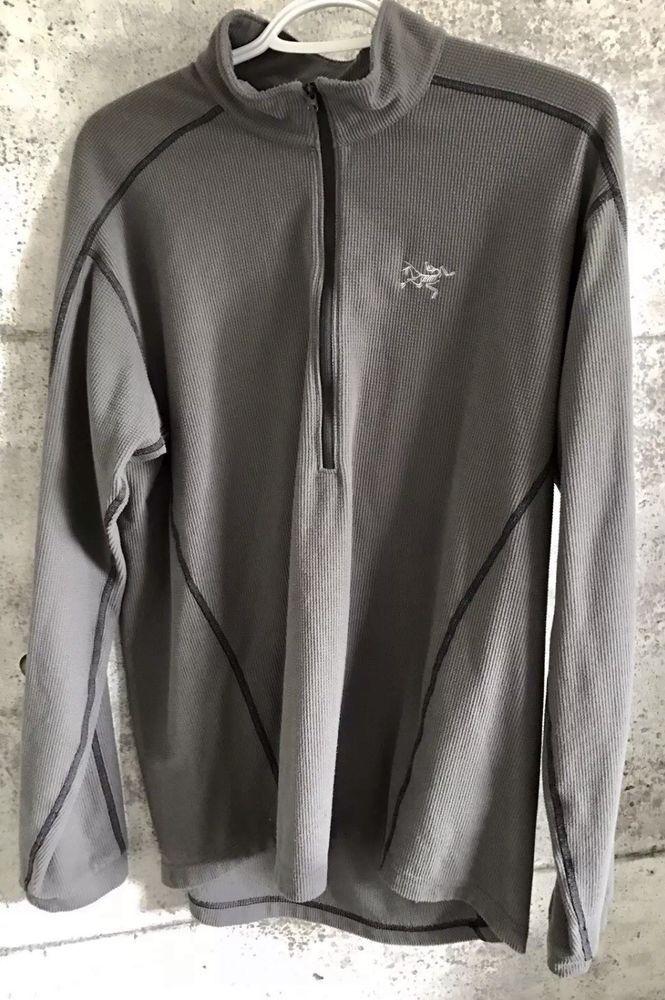 a599e310d78 Arcteryx Delta 1/2 Zip Insulated Pullover Polartec Waffle Fleece Gray Large  #fashion #clothing #shoes #accessories #mensclothing #coatsjackets (ebay  link)