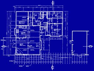 Blueprints are basically two-dimensional residential and commercial architectural design drawings, which describes the materials that may be used for construction, the size of the construction project as well as placement of the features.