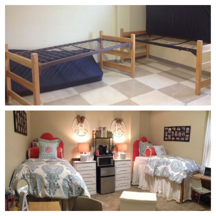 Ole miss dorm room before and after stewart hall decor and more pinterest ole miss dorm - Pretty decorations for bedrooms ...