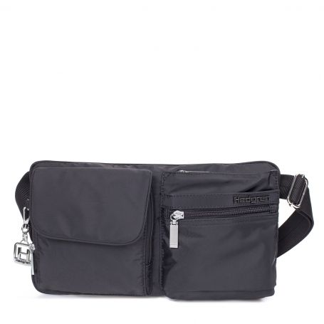 Hedgren Ashur Waistbag: Black The ashur waist bag is a practical, ready-to-go, functional little bag. It's the perfect companion for your travels. Comes with a two year warranty.