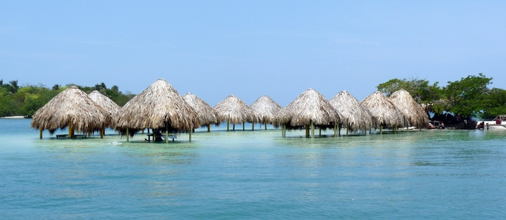Can't wait to go here!  8 more days!!  Islas del rosario, cartagena colombia