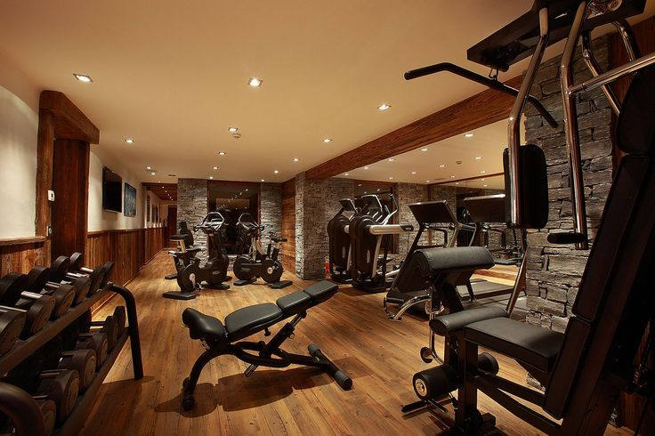 Alpine World Of Unparalleled Luxury Stunning Chalet Marco Polo In Val D Isere Gym Room At Home Home Gym Design Home Gym Decor