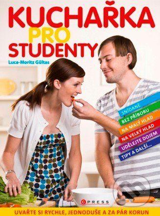 Martinus.sk > Knihy: Kuchařka pro studenty (Luca-Moritz Gültas)