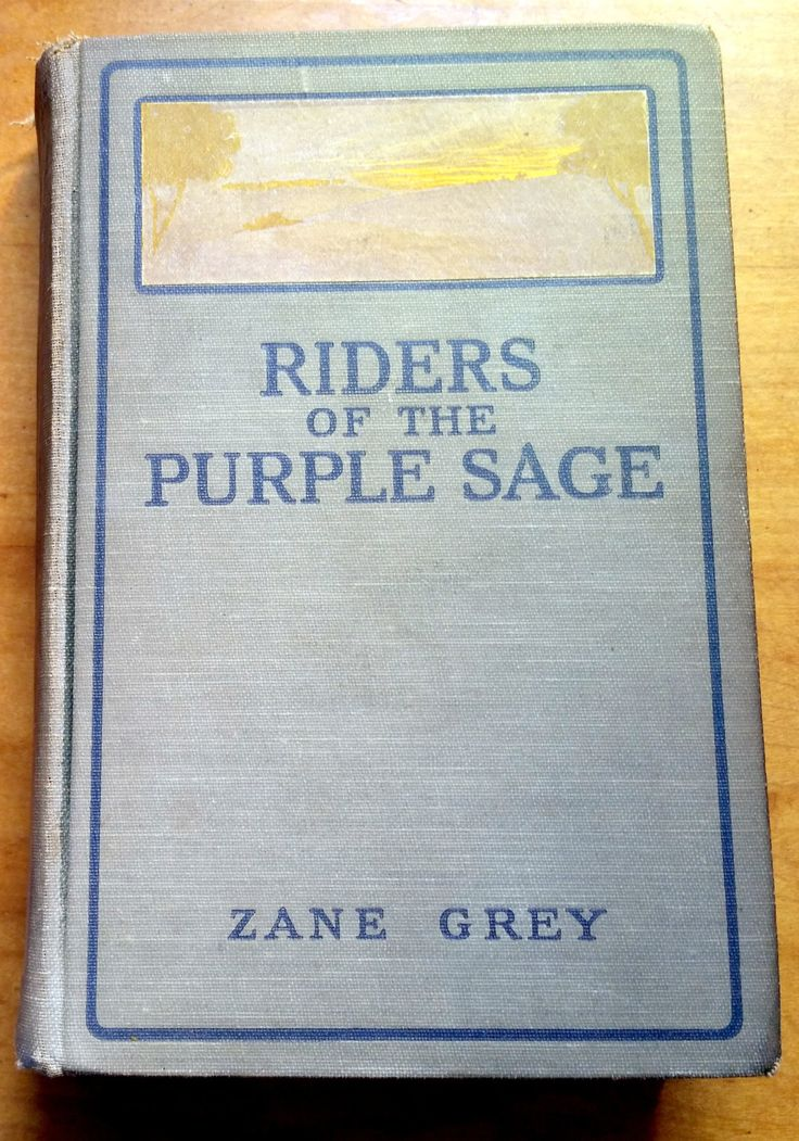 """First Edition! """"Riders of the Purple Sage"""" by Zane Grey available at Nostalgia on Etsy"""
