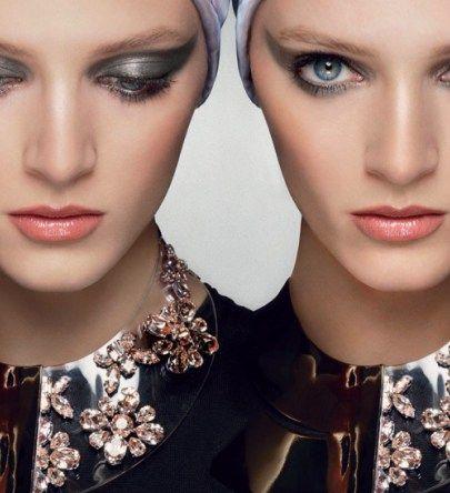 "Watch Daria Strokous Enchant in Dior's ""Mystic Metallics"" Collection"