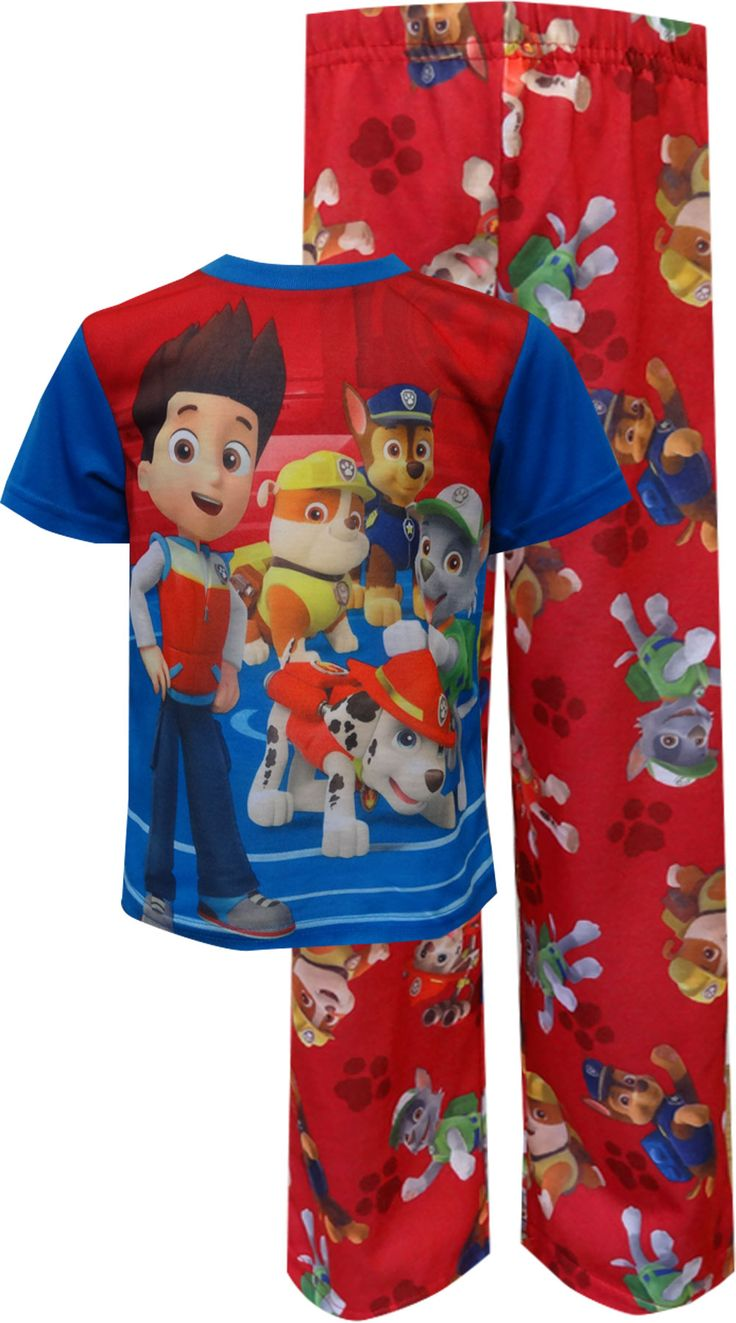 WebUndies.com Paw Patrol Toddler Pajamas