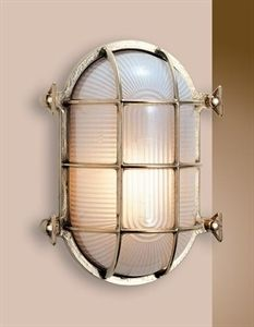 Picture of Barenjoey Medium Solid Brass Bunker (S2035B) Seaside Lighting