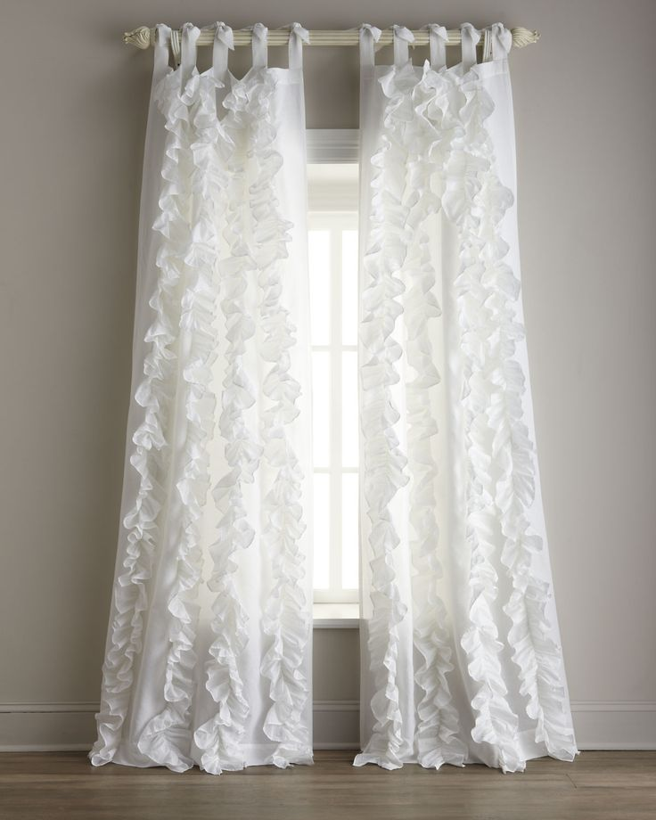How To Make White Ruffled Curtains | Curtain Menzilperde.Net Ruffled Curtains