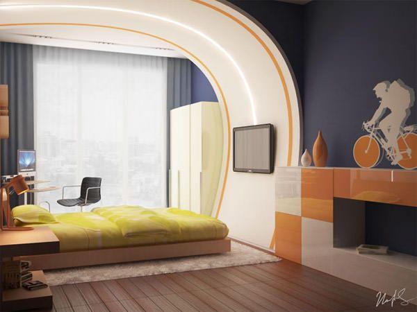дизайн подростковой комнаты для мальчика