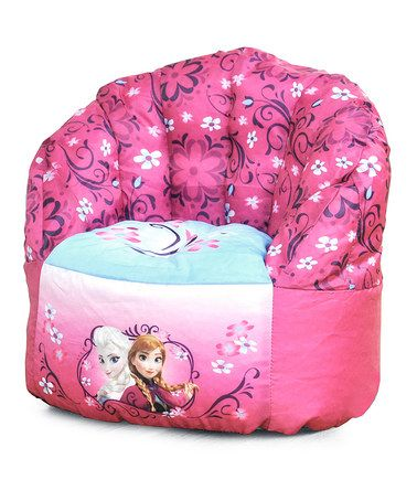 Love this Frozen Toddler Bean Bag Chair on #zulily! #zulilyfinds