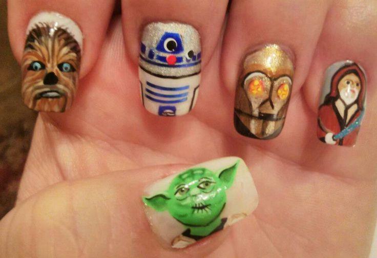 Star Wars Manicure
