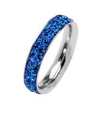 Amore & Baci RA003 sapphire blue ring