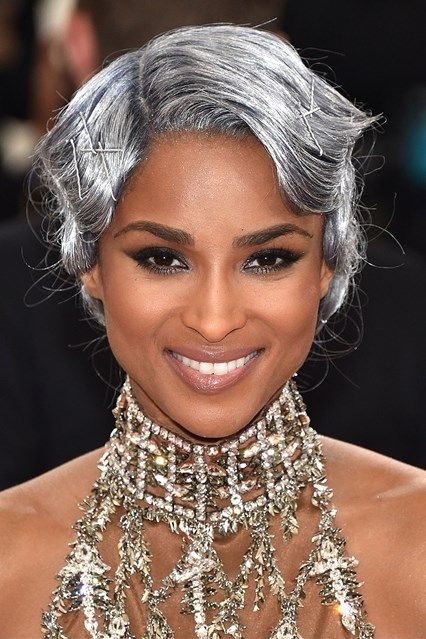 20 Trendy Celebrity Gray Hair Color Ideas 2019 - Short ...