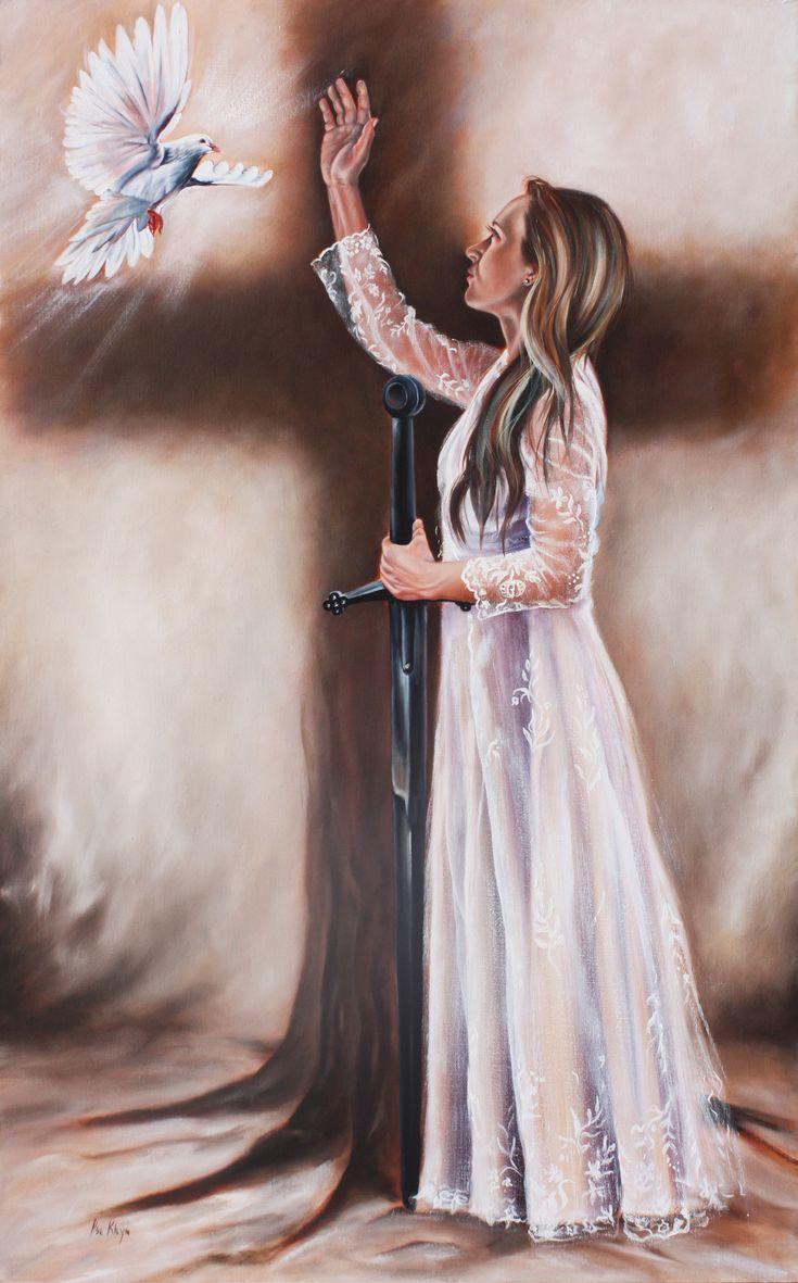 Tree of Life. Oil on canvas by Ilse Kleyn. www.artofkleyn.com