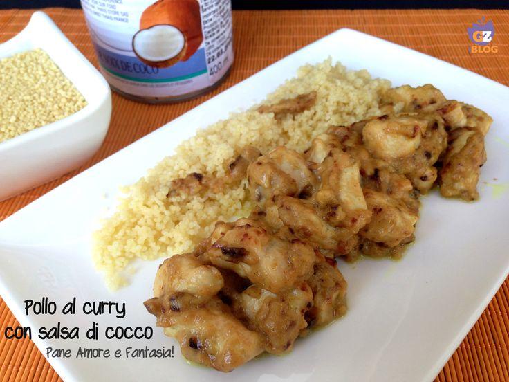 Pollo al curry con salsa di cocco