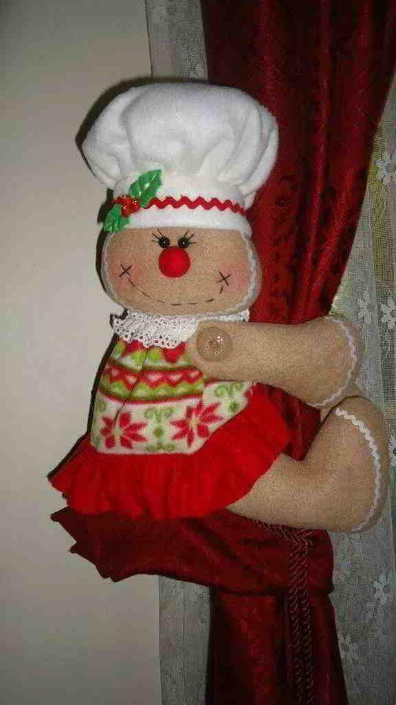 Cortineros galleta de navidad