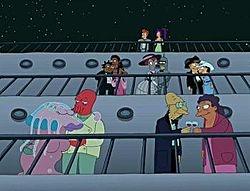 Futurama // Season 1 Episode 10 - A Flight to Remember