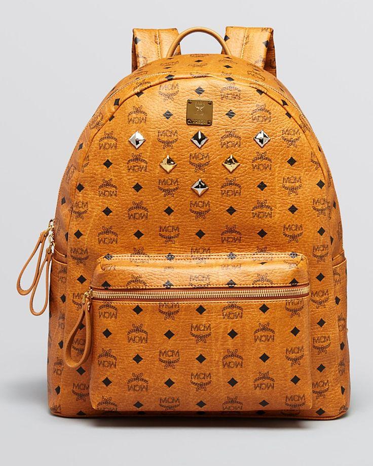 Mcm Backpack - Large Sprinkle Stud-Handbags