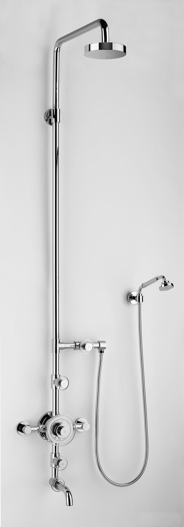 22 best volevatch grand hotel images on pinterest bath mixer volevatch grand hotel exposed wall mounted thermostatic bath and shower set with hand shower and bath