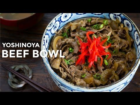 Yoshinoya Beef Bowl (Gyudon) • Just One Cookbook