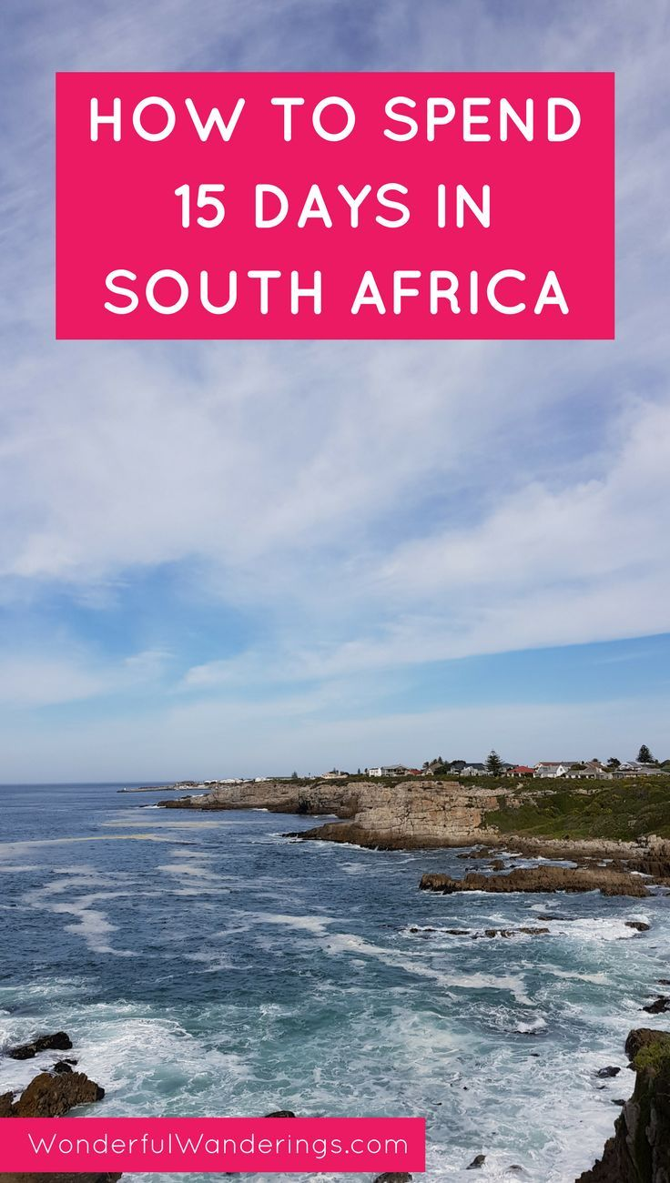Travel to South Africa using this 15-day itinerary with tips on things to do in Cape Town and along the Garden Route | Wonderful Wanderings
