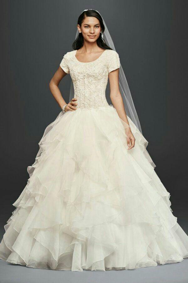 46 best Modest Catholic Wedding Dresses images on Pinterest ...