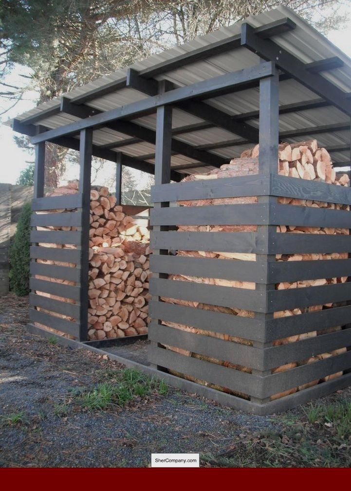 Pole Barn Shed Roof Plans And Pics Of 10x10 Gambrel Roof Shed Plans 77466125 Smallshedplans 10x12shedplans Backyard Sheds Backyard Outdoor Firewood Rack