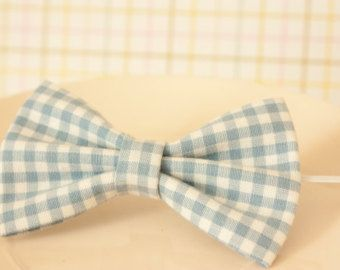 Colorful Seamless Square Pattern Toddler Boy Bow Tie on Skinny Elastic
