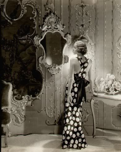 Polka Dot GownFashion, Vintage Vanities, Polka Dots, Old Hollywood, Cecil Beaton, Hollywood Glamour, Vintage Photography, The Dresses, Mirrors Mirrors