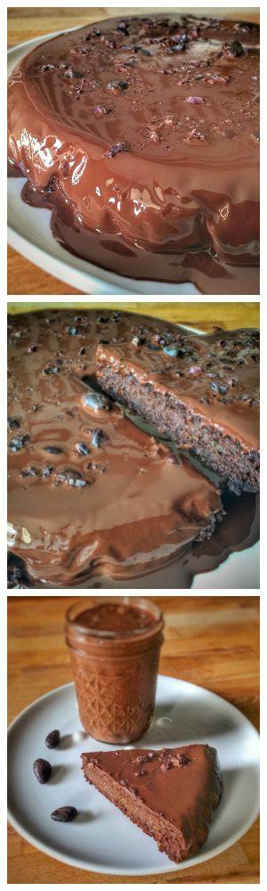 Vegan & Gluten free chocolate - zucchini cake #vegan #glutenfree #chocolate…