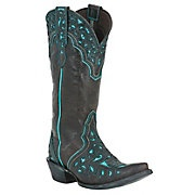 Pair these with a cute denim mini and a tank top that matches the turquoise, love it and love western boots!