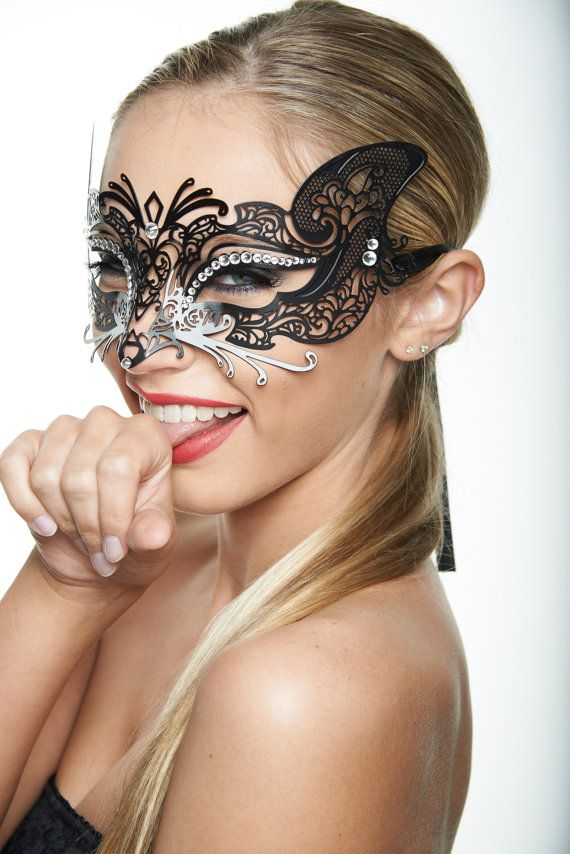 Sexy Wolf Masquerade Mask  Metal Filigree by ElegantxBoutique, $29.95