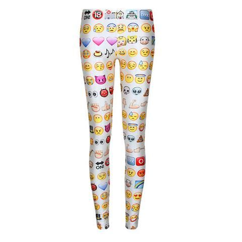New Arrival 2016 Fitness Women Leggings Casual 3D Print Hot Sale Fashion Jeggings Cartoon Long Pants Leisure Legging WS65