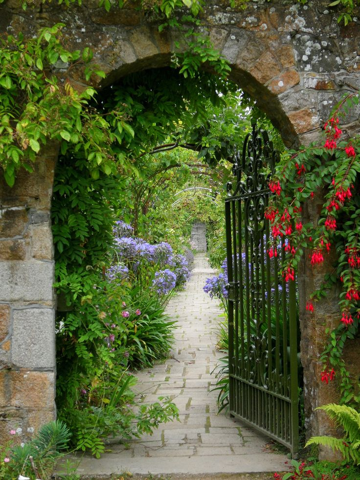 """""""Samarès Manor"""" by tracygray   3 August 2009 // Samarès Manor (Jèrriais: Mangni d'Sanmathès) is a manor house w/ medieval origins in the Vingtaine de Samarès, in the parish of St. Clement in Jersey, Channel Islands & is the traditional home of the Seigneur de Samarès. The name Samarès is an old French word meaning salt-marsh & much of the low-lying surrounding areas are or were coastal marshes   The gardens are open to the public from April until October."""