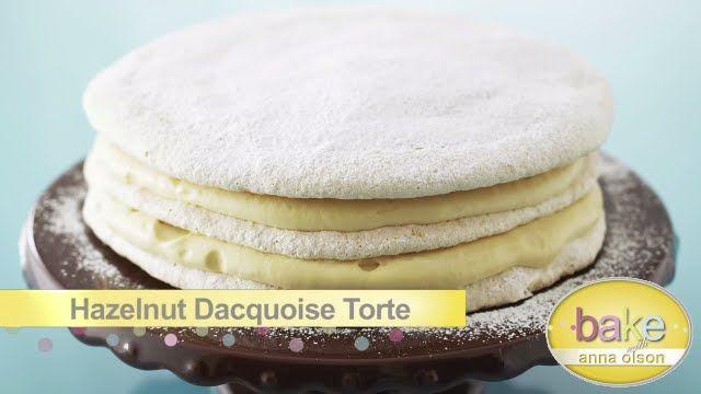 Hazelnut Dacquoise Torte | Bake with Anna Olson