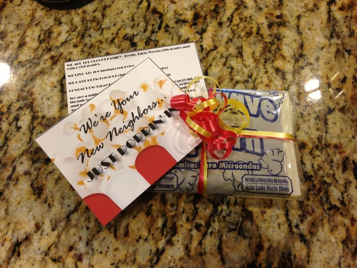 A Fun Way To Introduce Yourself To Your New Neighbors | Army Wife Network