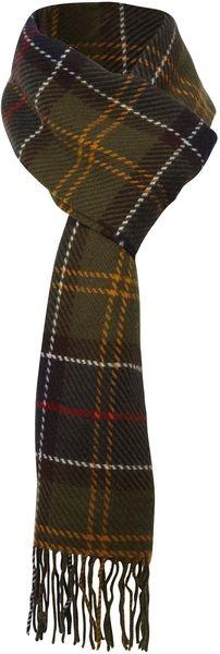 Barbour ENGLAND   Twill Weave Tartan Scarf
