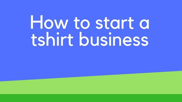 How to start a tshirt business Vinyl Cutter: http://amzn.to/2CNmjRW Heat Press: http://amzn.to/2CL9VS8  Some of the suggested products for starting a tshirt business.   How to start a tshirt business. There are a number of different types of models you can use to start a tshirt business. Some of which allows you to start a tshirt business with no money. Others require a bit of printing equipment for printing the tshirts. I go through all the models you can look at to start a tshirt business…