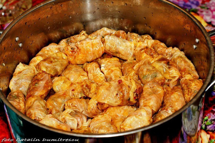 Traditional food called : sarmale :)