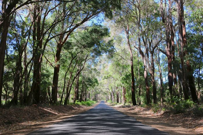 Road trip from Perth to Margaret River, Australia