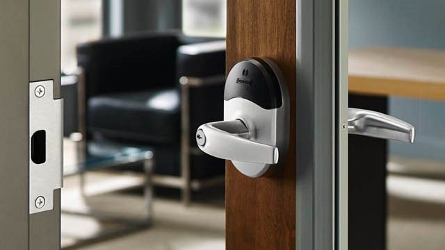 If you were looking to update the security of your business property with a lock system that would have electronic credential management capabilities for maximum security and efficiency, NorthWest Locksmith Reno can help! We now carry the NDE Wireless series of locks by Schlage which woud give you access control system qualities for an affordable price. Call for info (775) 276-5673 or http://nwlocksmithreno.com #Locksmith #Reno #Schlage #NDE
