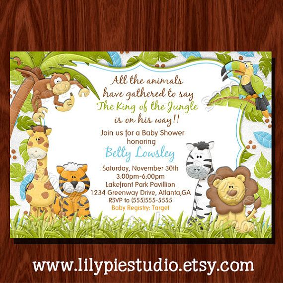 Best 25 Jungle baby showers ideas on