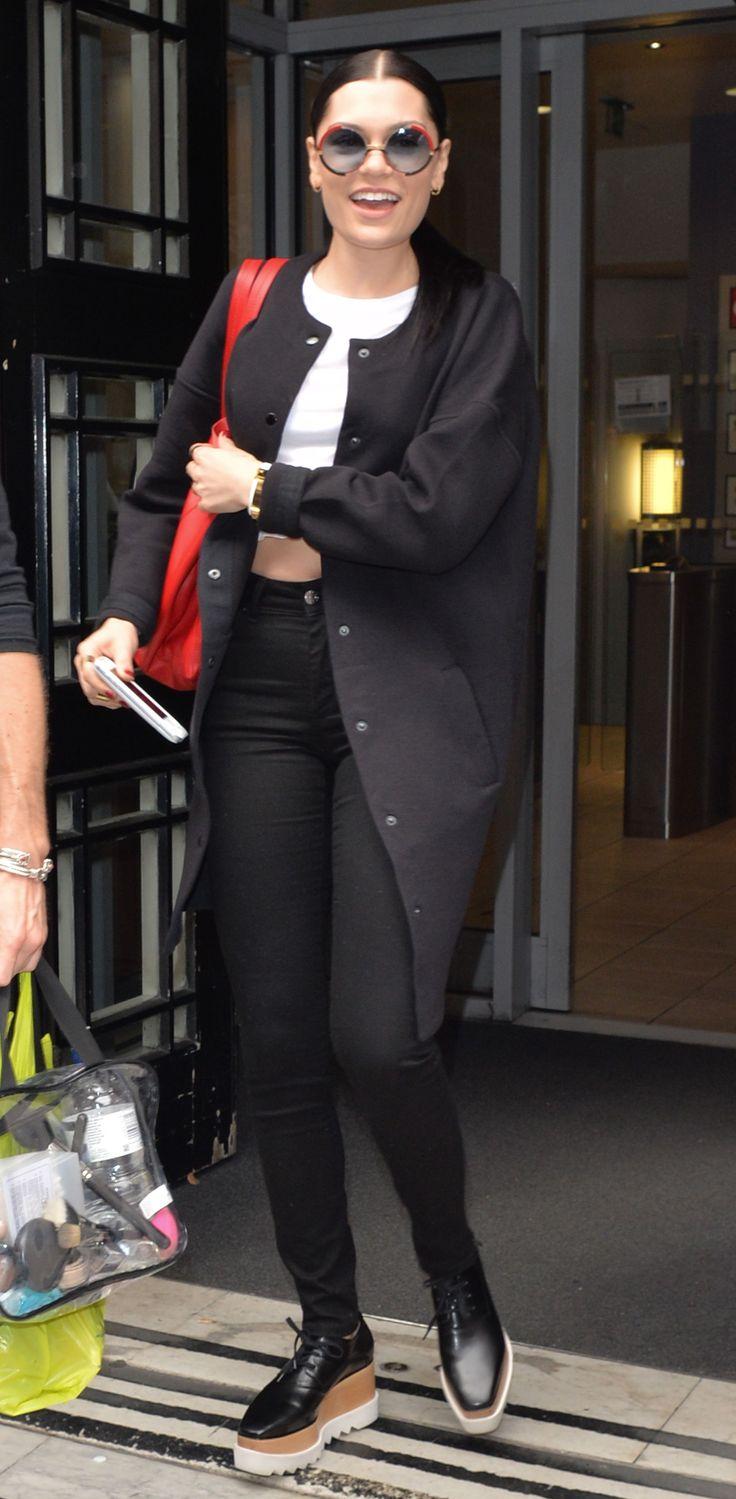 Jessie J - Leaving BBC Radio studios in London - August 13, 2014 #JessieJ