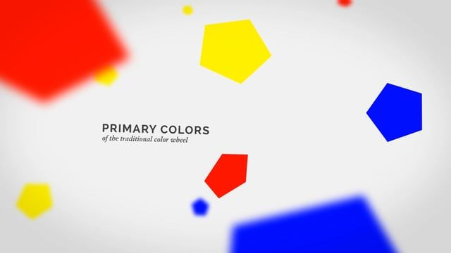 School of Visual Arts motion graphics semester project on COLOR…