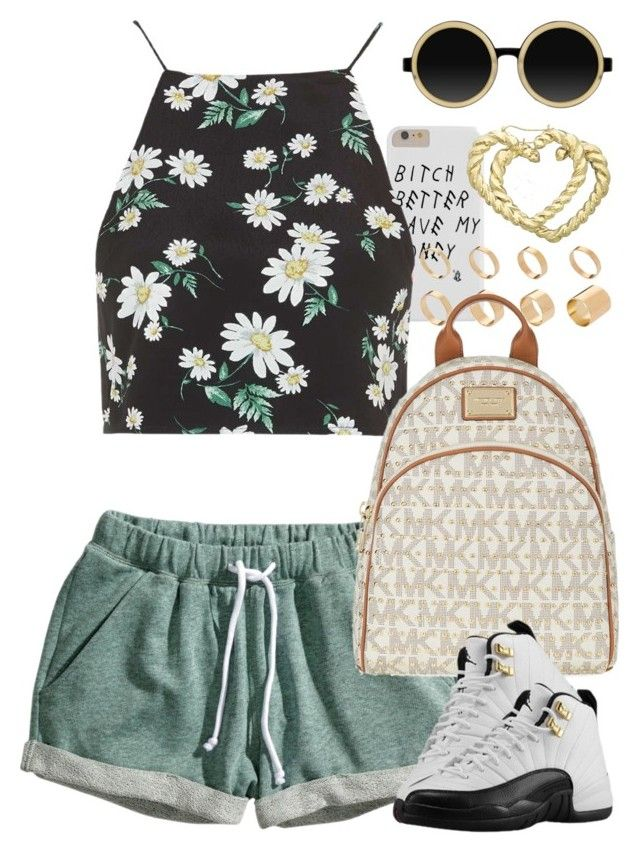 """Untitled #1335"" by power-beauty ❤ liked on Polyvore featuring Topshop, ASOS, H&M, MICHAEL Michael Kors, Moscot and H.I.P."