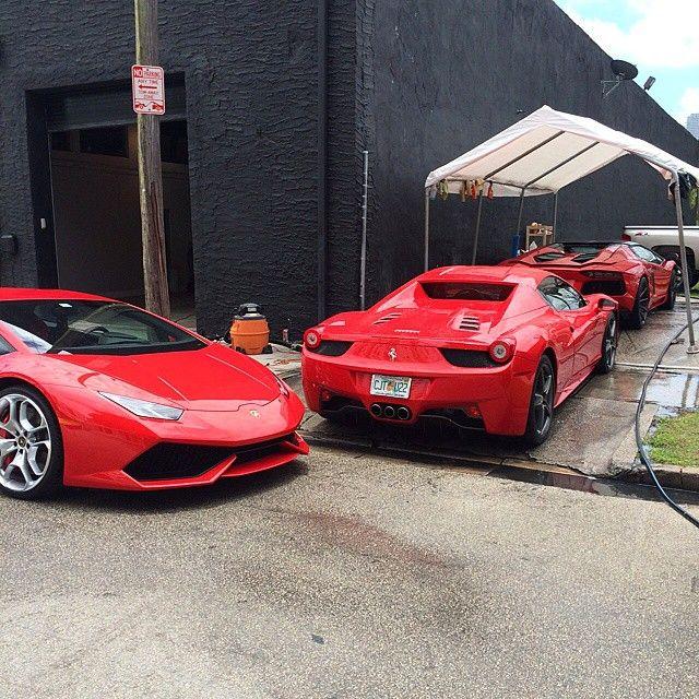 Ferrari And Lamborghini Rental Cars In Miami Beach