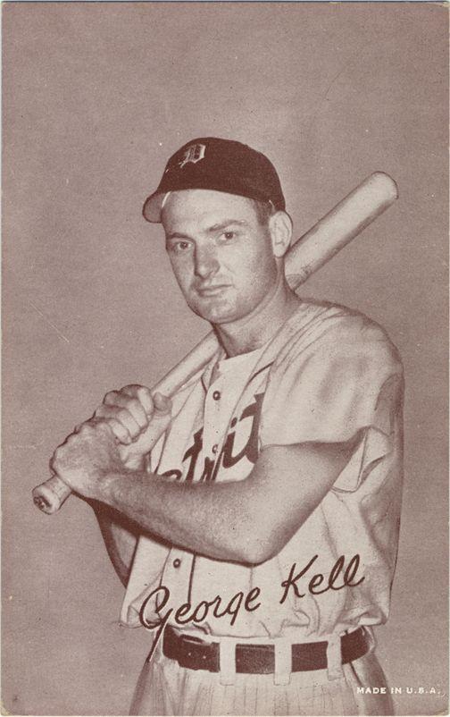Detroit Tigers third baseman George Kell